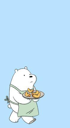 we bare bears wallpaper Bear Wallpaper, Cute Wallpaper Backgrounds, Cute Cartoon Wallpapers, Disney Wallpaper, Simple Wallpapers, Pastel Wallpaper, Ice Bear We Bare Bears, 3 Bears, Cute Bears