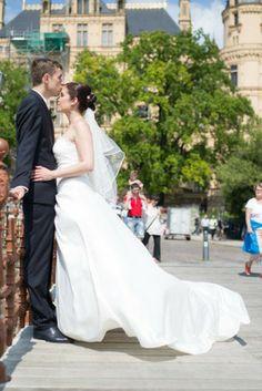 Das perfekte Hochzeitsfoto von Hochzeitsfieber Schomburg.