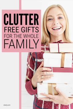 A huge list of 101 clutter free gift for the whole family including kids, parents and grandparents. Loads of no clutter, minimalist present ideas for Christmas and birthdays for all budgets. #nocluttergifts #clutterfreegifts #clutterfreepresents #noclutterpresents Making Water, Flower Subscription, Spring Cleaning Checklist, Local Hotels, Clutter Control, Getting Rid Of Clutter, Polka Dot Paper, Konmari Method, Clutter Organization