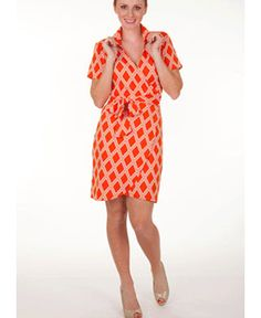 Tracy Negoshian Jane Dress- Perfect for Game Days!