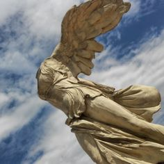 Victoire de Samothrace #southoffrance #Antigone #Montpellier #Louvre #antiquité