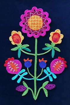 Crochet Flowers Easy Easy and Cute Free Crochet Flowers Pattern Image Ideas for new Season 2019 Part crochet flowers; Knitted Flowers Free, Crochet Flower Patterns, Crochet Art, Cute Crochet, Crochet Motif, Crochet Flowers, Knitting Blogs, Knitting Patterns Free, Free Pattern
