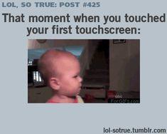 Cutest reaction!