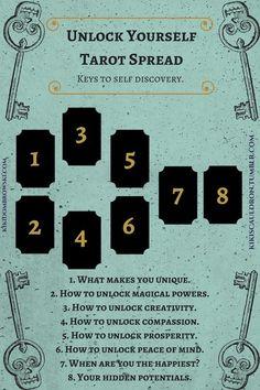 """Unlock yourself tarot spread: the. kikiscauldron: """"Unlock yourself tarot spread: the keys to self discovery. """"kikiscauldron: """"Unlock yourself tarot spread: the keys to self discovery."""
