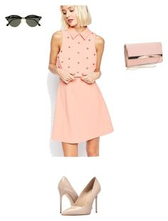"""""""Untitled #396"""" by aayushis on Polyvore featuring ASOS, Massimo Matteo, New Look and Ray-Ban"""