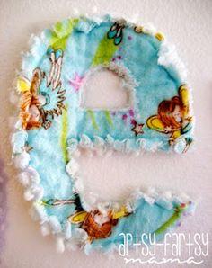 artsy-fartsy mama: rag letters