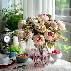 Bridal Wedding Party Festival Xmas Artificial Peony Silk Flower Decoration Bouquet Pink DDU http://www.amazon.co.uk/dp/B00WHQ2KPI/ref=cm_sw_r_pi_dp_eoO2vb1XM4XP2
