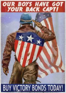 captain america shield on back Captain America Poster, Captain America Shield, Capt America, Marvel Movie Posters, Marvel Movies, Thor, Ww2 Propaganda Posters, Avengers, Movie Wallpapers