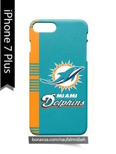 Miami Dolphins Line iPhone 7 PLUS Case Cover Wrap Around