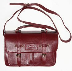 R Handcrafted in Cape Town, South Africa Width: 31 cm Height: 21 cm Gussets: cm x 2 , plus 2 front pockets. Ruby Red, Cape Town, Sally, Leather Men, Leather Handbags, South Africa, Men's Shoes, Satchel, African