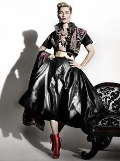Vogue Paris-April 2013. Kate Moss