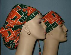 University of Miami Scrub Hats