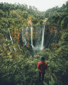 Tumpak Sewu in East Java, Indonesia
