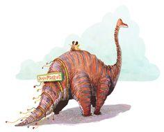 i want a dinosaur for my wedding!!!
