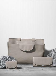 Wallet: Edgal. Bag: Edita. Wallet: Renal.