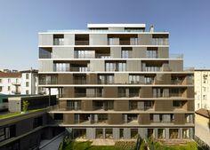 Beautiful Residential Complex, Milan, Italy , 2011   http://www.designrulz.com/architecture/2011/07/beautiful-residential-complex-milan-italy-2011/