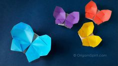 Origami Butterfly tutorial 012 // Origami Butterfly-Box :: Caja Mariposa  //  Provided by: www.standinnovations.com