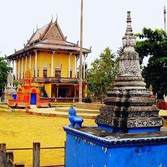 Pagode de Battambang Cambodge.  Battambang pagoda Cambodia.  http://po.st/iTfIG5