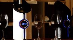 Sonic Decanter promises to make wine age and ultimately taste better