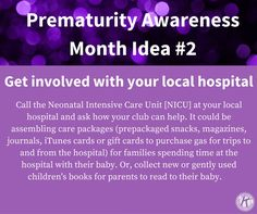 Get involved with your local hospital- March of Dimes, Prematurity Awareness Month World Prematurity Day, Parent Board, March Of Dimes, Preemies, Nicu, Community Service, Parenting, Inspired, Quotes