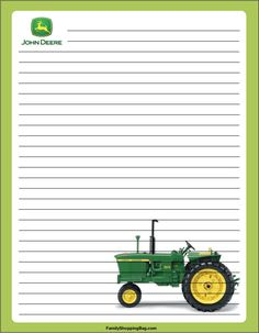 Free John Deere downloadable/printable bookmarks and other printable items for personal use. Description from pinterest.com. I searched for this on bing.com/images