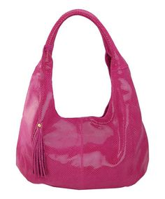 Take a look at this Fuchsia Mamba Hobo by Maxine Couture on #zulily today!