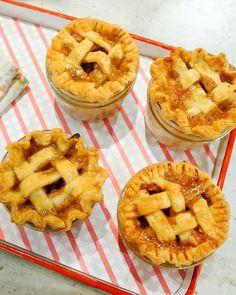 Apple-Cheddar-Rosemary Piejars - Martha Stewart Recipes