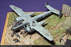Luftwaffe Diorama.