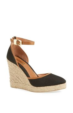 They're perfect, but in beige........Louise et Cie 'Palma' Espadrille Wedge available at #Nordstrom