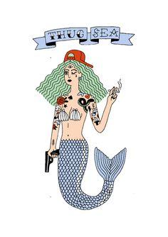 swagger mermaid