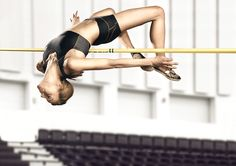 high jump... its  love hate relationship