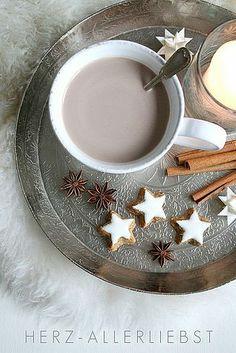 тысяча разных идей - Горячие зимние напитки -горячий шоколад и какао.