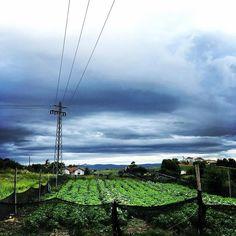 día de lluvia en este #mayocordobes lluvioso. #felizlunes #nubes