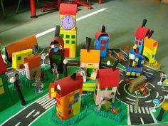 Resultado de imagen de maquetas de barrios para niños