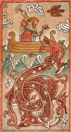 Thor is one of the most prominent figures in Norse mythology. He was a major god of all branches of the Germanic peoples before their conversion to Christianity, although he reached the height of his popularity among the Scandinavians of the late Viking Age. Thor, the brawny thunder god, is the archetype of a loyal and honorable warrior, the ideal toward which the average human warrior aspired. He's the indefatigable defender of the Aesir gods and their fortress, Asgard.