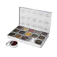Love Tea and this kit just aids others with finding a new fav.  GREEN HERBAL TEA KIT|UncommonGoods