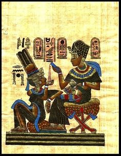 King Ramses and his wife