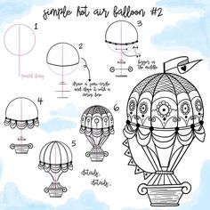[75/100] Here's a second hot air balloon mini-tutorial for y'all! Thank you all for sharing your doodles with me  #bujo #bujoinspire #bujoinspo #doodle #doodles #doodleaday #dailydoodle #howto #hotairballoons #tutorial #howtodraw #howtodoodle #drawing #100daysofproductivity