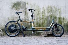 Bambus Fahrräder: Faserwerk Lastenrad