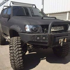Nissan Patrol Gr Y61 portal axles