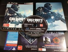 Call of Duty GHOSTS Limited Edition  Sony PlayStation 3 -  PS3  FREE Postage
