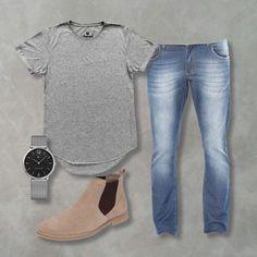 Procurando inspiração para se vestir melhor? Veja abaixo quatro sugestões de combos que montamos para usar como referência e, se você quiser, comprar. COMB
