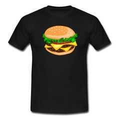 hamburger T-Shirts .... Hamburger am Morgen vertreibt Kummer und Sorgen.