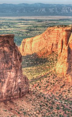 Colorado National Monument | Travel | Vacation Ideas | Road Trip | Places to Visit | Fruita | CO | Monument | City Park | Nature Reserve | Natural Feature | Hiking Area