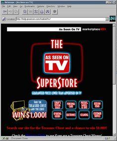 As Seen On TV (marketplaceMCI), 1996