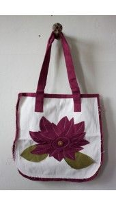 handmade bags, jewelry, etc. by women rescued from human trafficking in India.