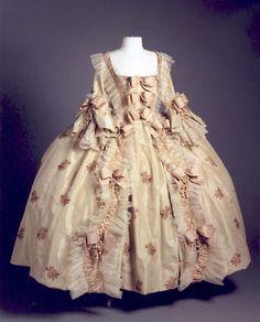 Marie Antoinette's robe.