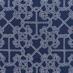 Shop Duralee Roped In Navy Fabric at onlinefabricstore.net for $22.5/ Yard. Best…