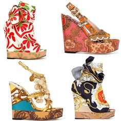love a good wedge/platform! can't wait to incorporate this spring's color pallette into my personal style.