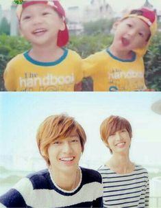 Boyfriend Kpop, Boyfriend Memes, Jo Youngmin, Twin Babies, Baby Twins, Luhan, My Beauty, Kpop Groups, Best Friends
